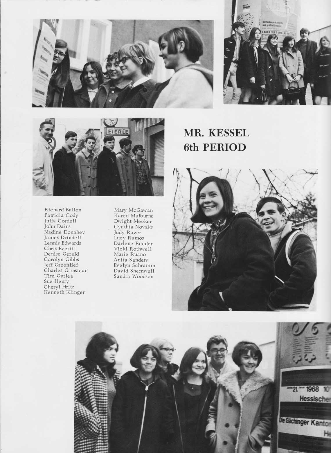 FAHS Class of 1970 Sophomore Pictures